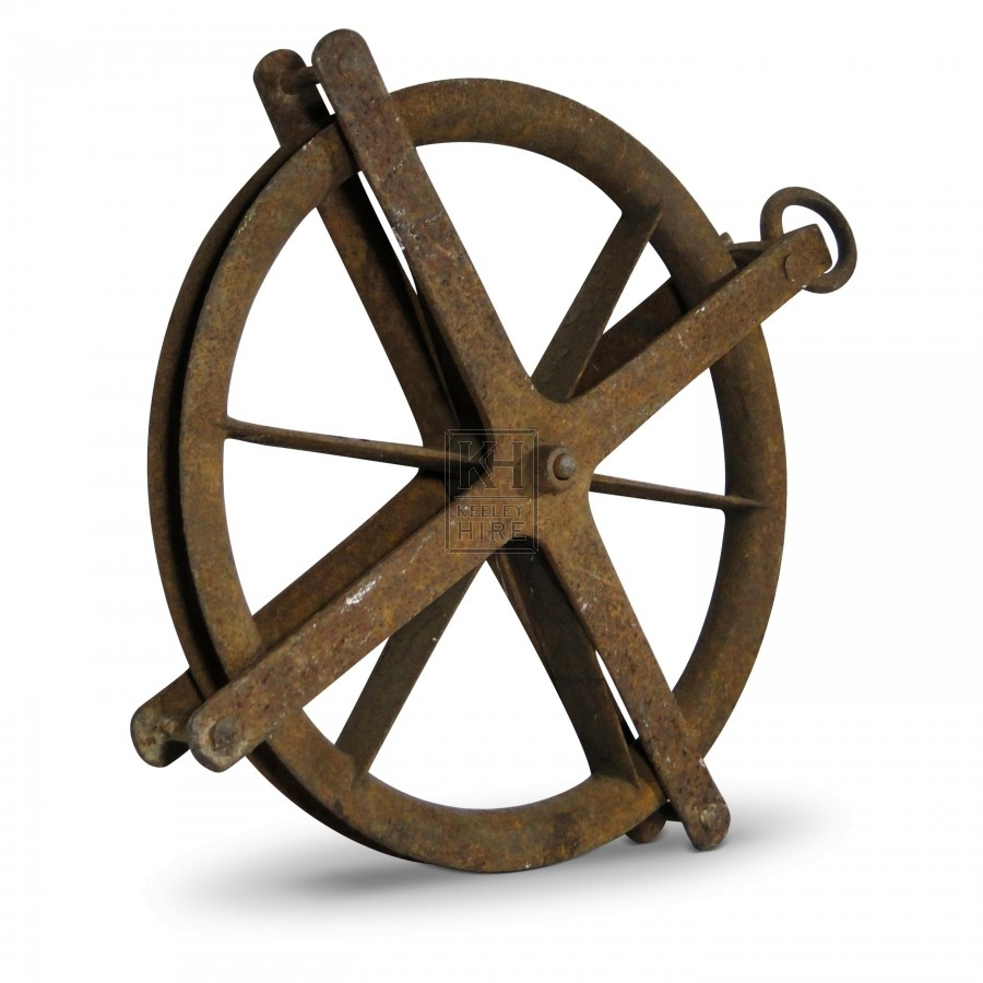 Iron Pulley Wheel