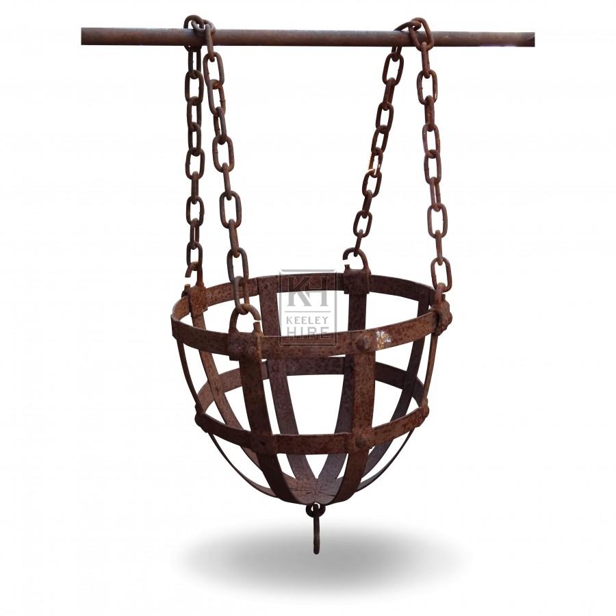 Hanging Basket Brazier