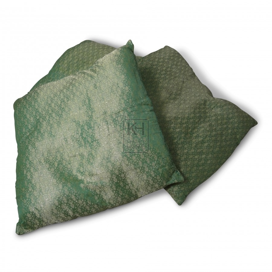Green with Cushion