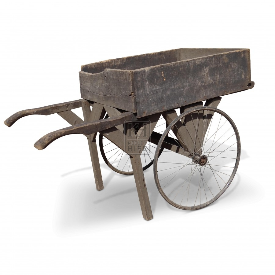Handcart with Bicycle Wheel