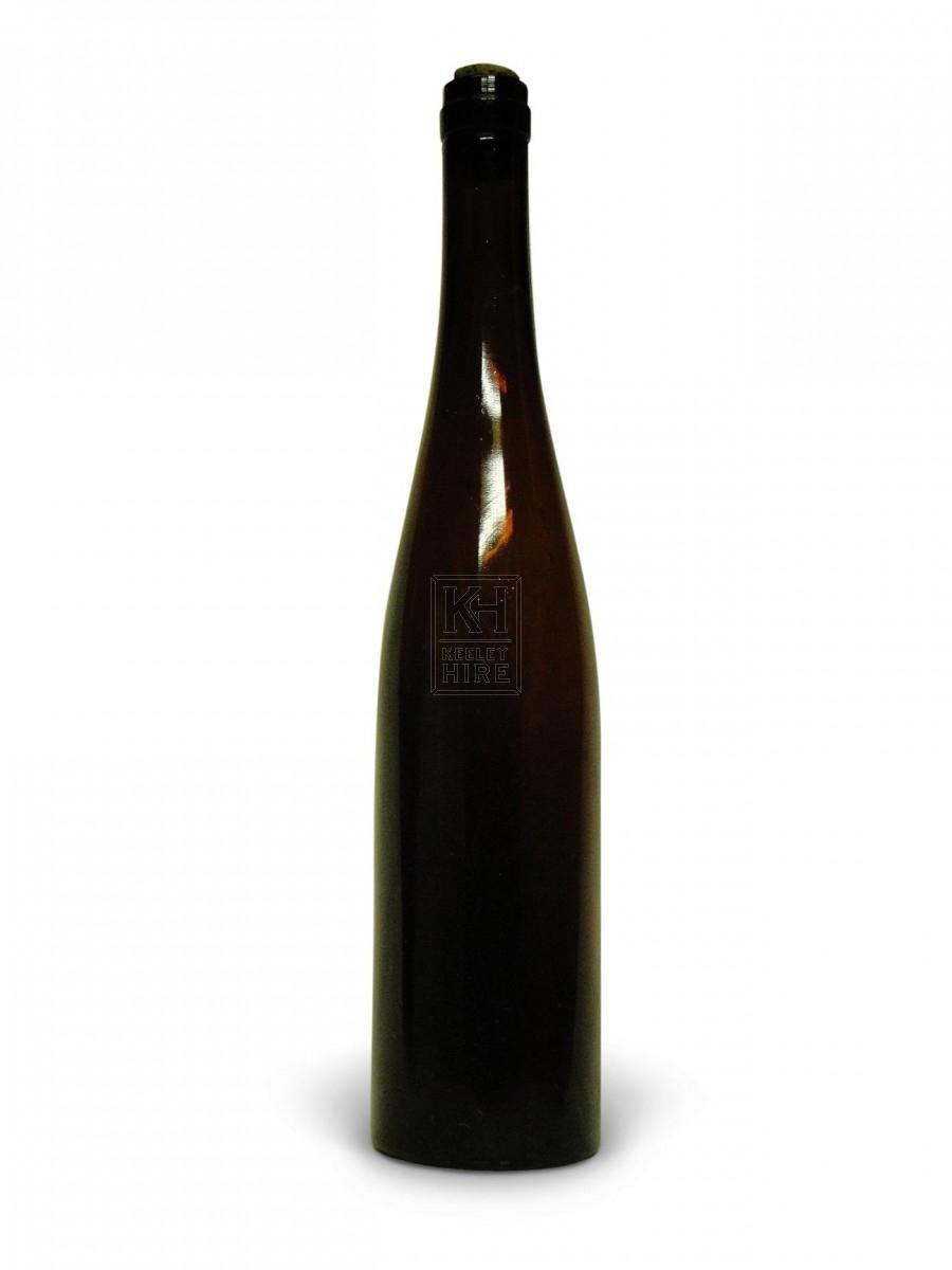 Tall Long Necked Glass Bottle