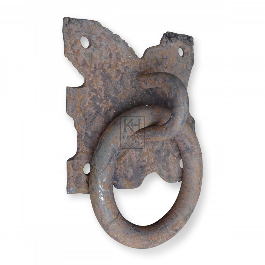 Large Thick Iron Wall Ring