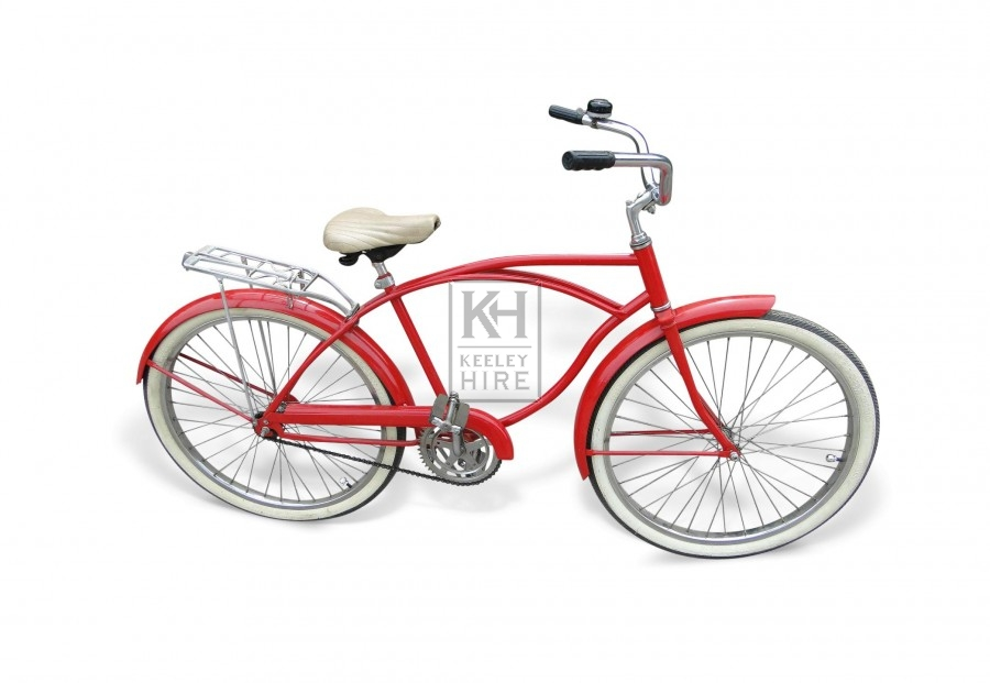 Red American Bicycle