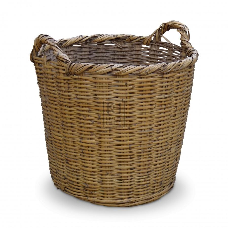 Large Wicker Basket #1