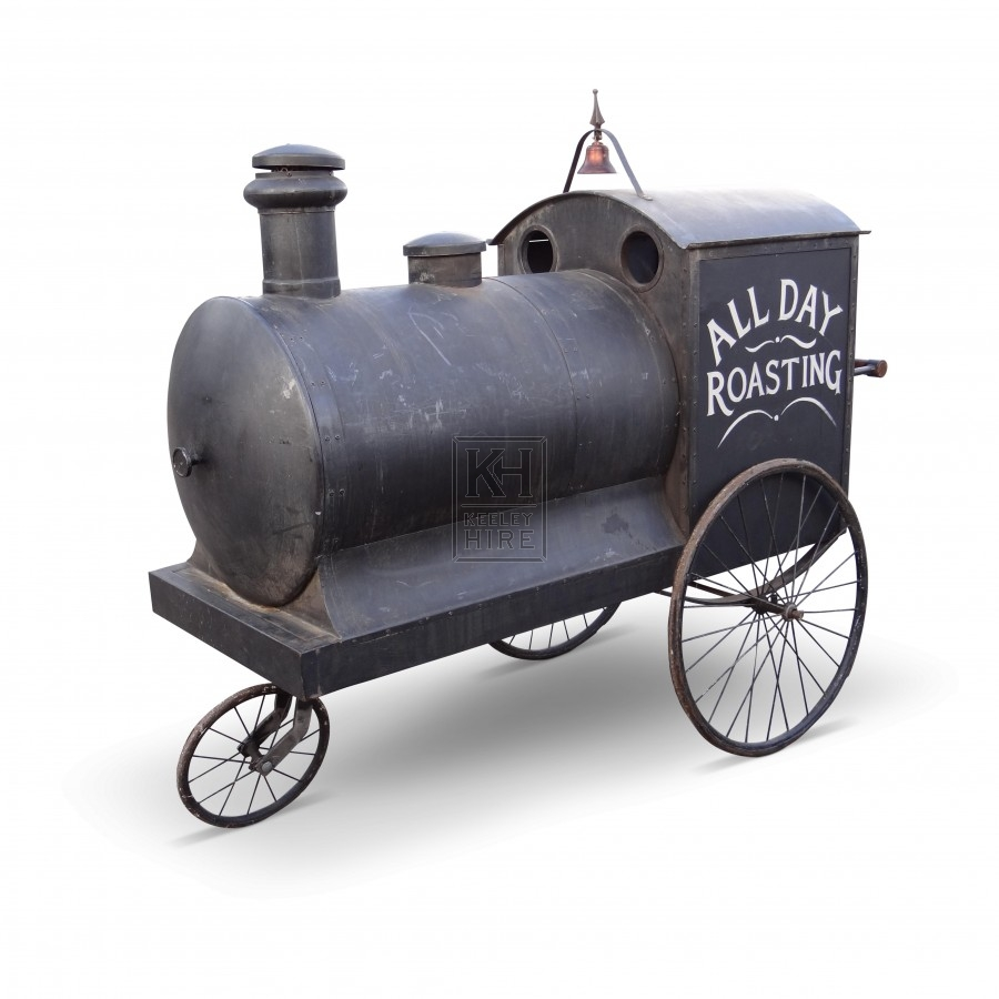 Train Chestnut Sellers Cart