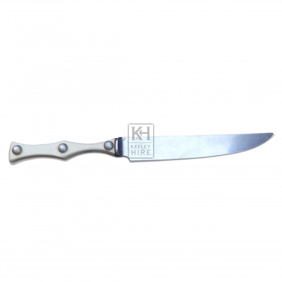 Bone Handled Studded Knife