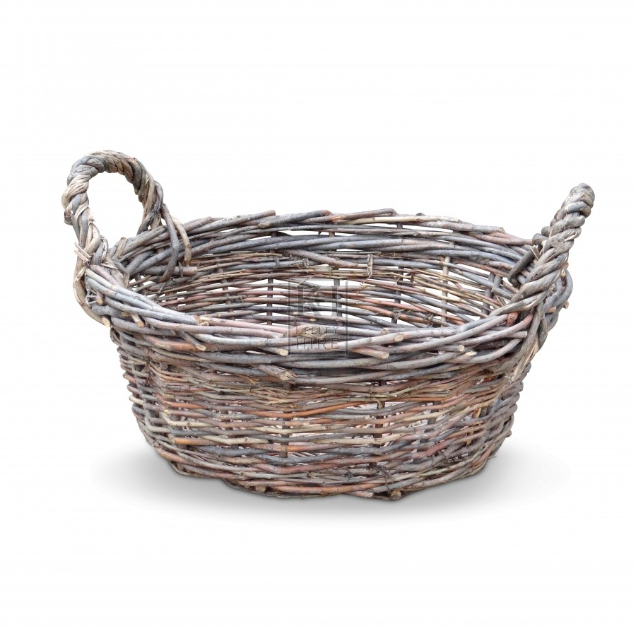 Assorted Shallow 2 Handled Basket
