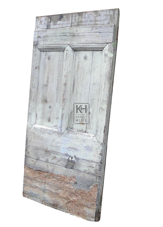 Old worn door