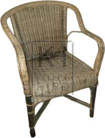 Rattan Wicker Armchair