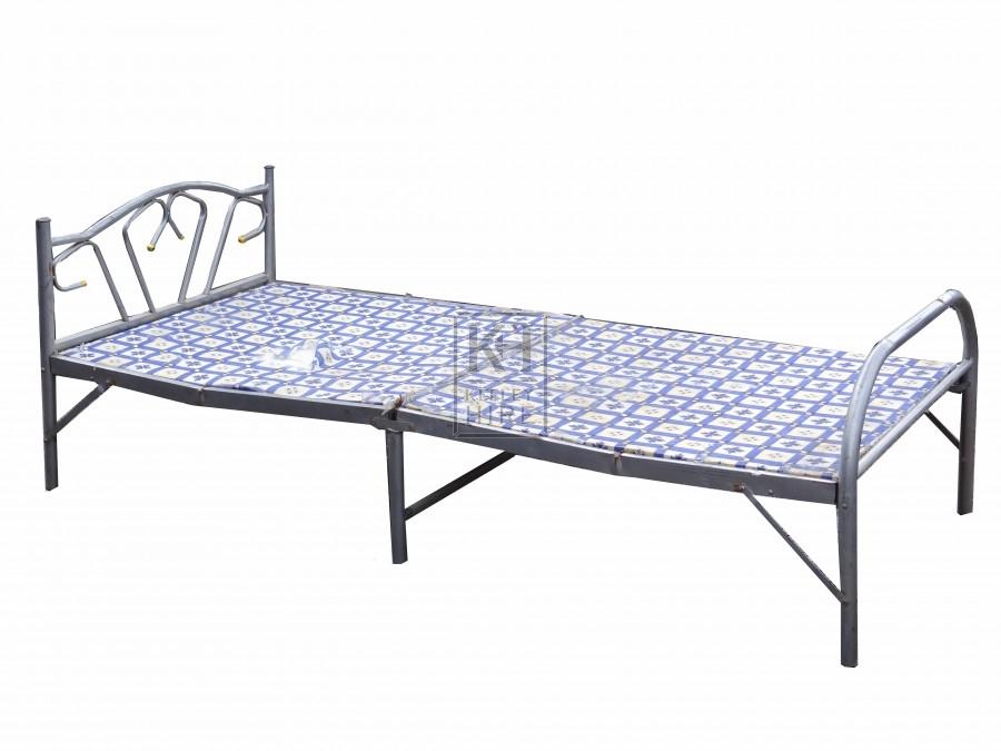 Folding Metal Bed