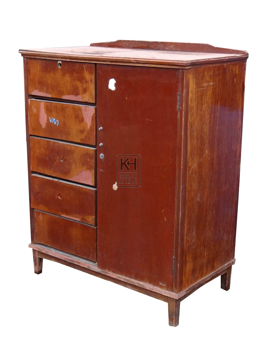 Cupboard with 5 Drawers