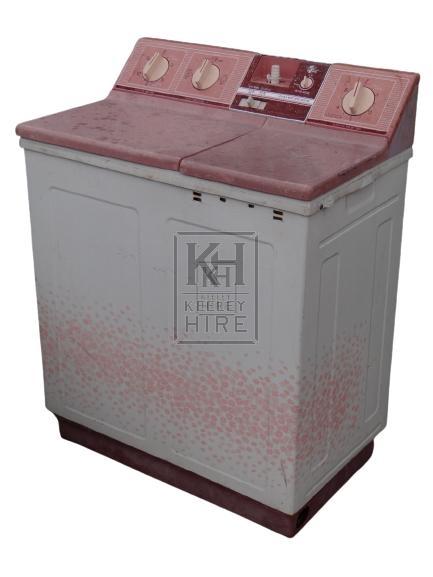 Chinese Washing Machine Pink