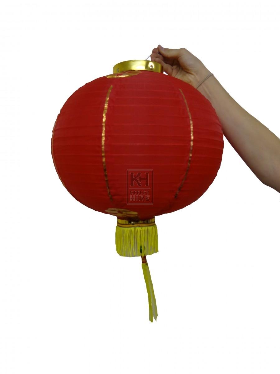 Chinese Paper Lantern Round