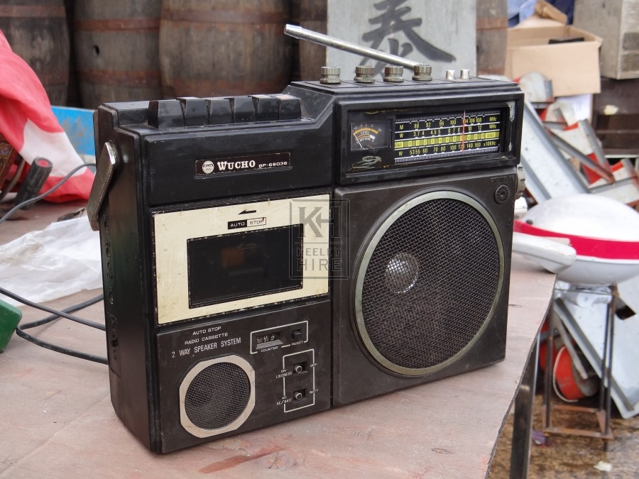 Wu Cho Radio Cassette Player