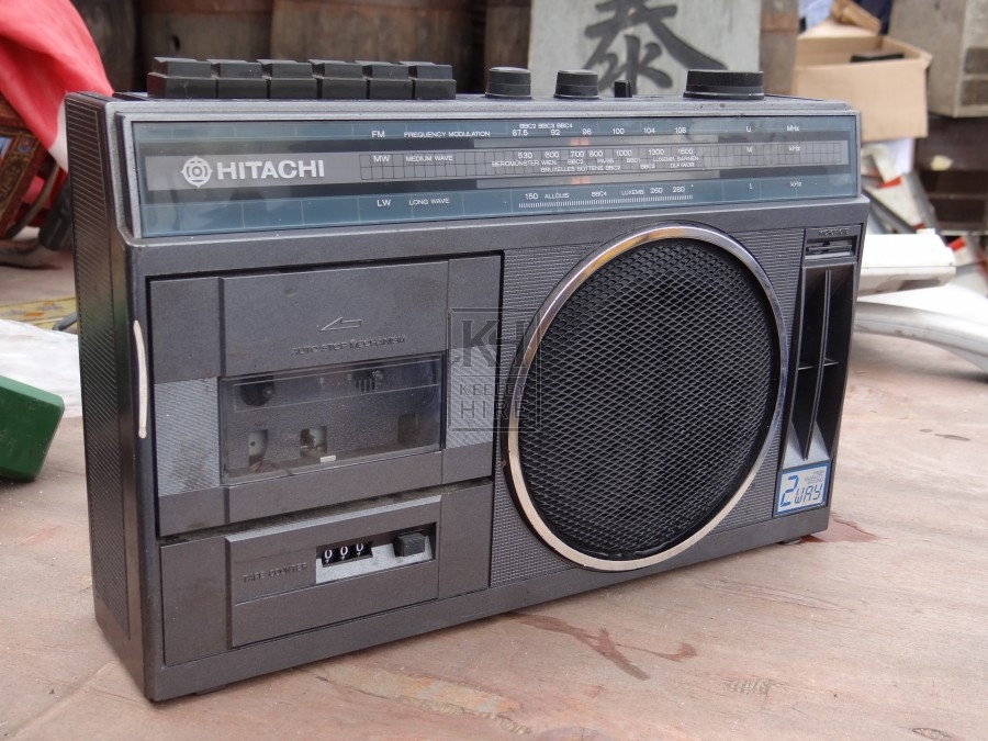 Hitachi Radio Cassette Player