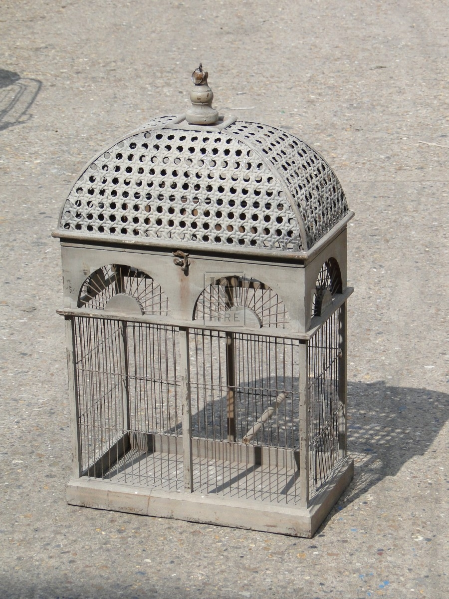 Dome Top Rectangle Birdcage