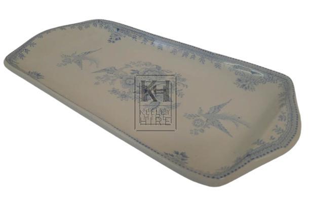 China rectangle tray