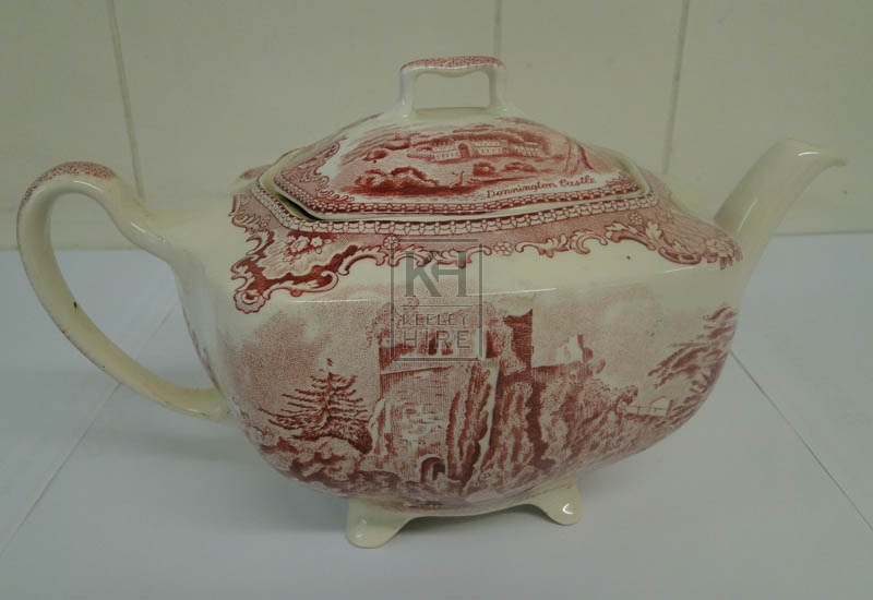 Patterned Tea pot