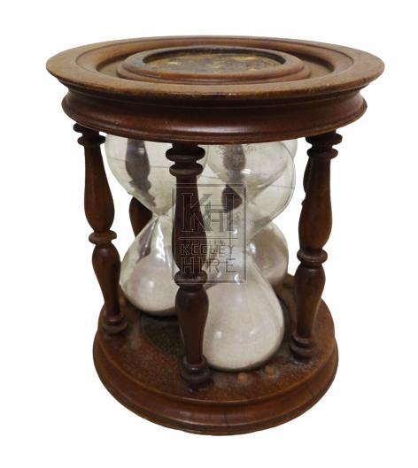 Triple hour glass