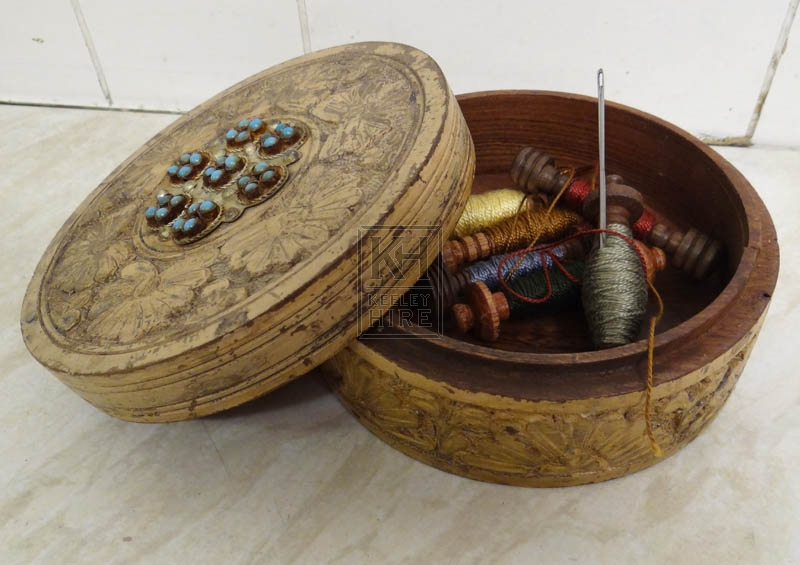 Early sewing kit