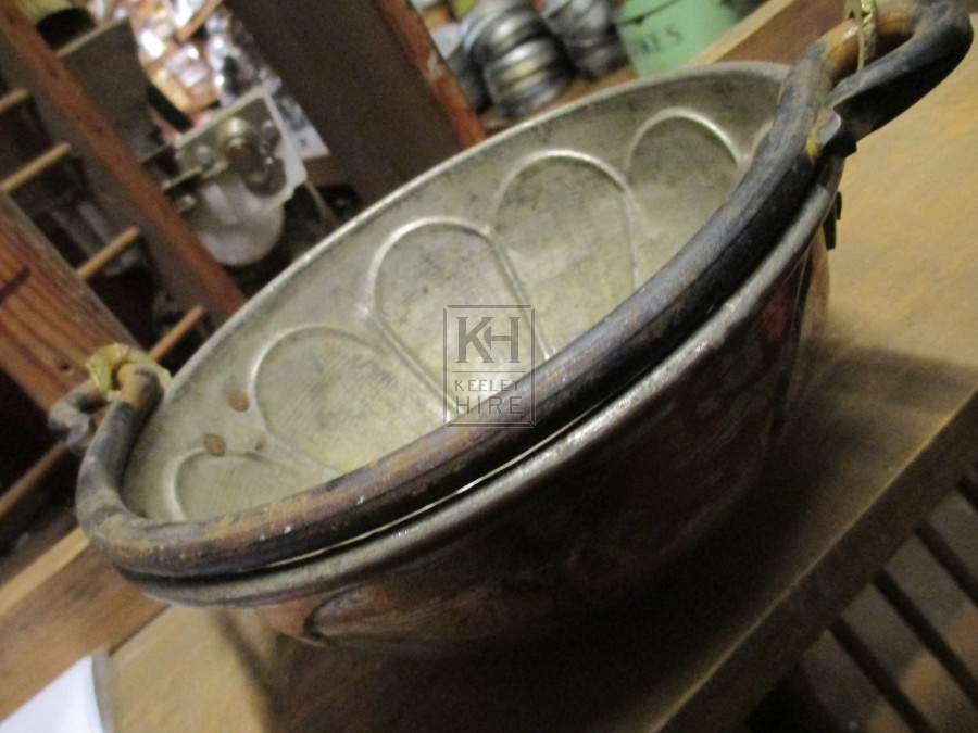 Copper Platted Bowl