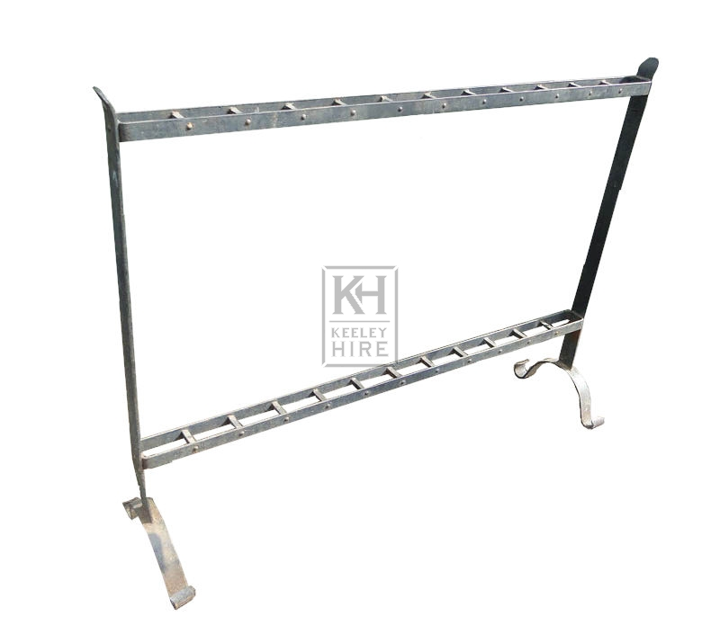 Iron weapons rack