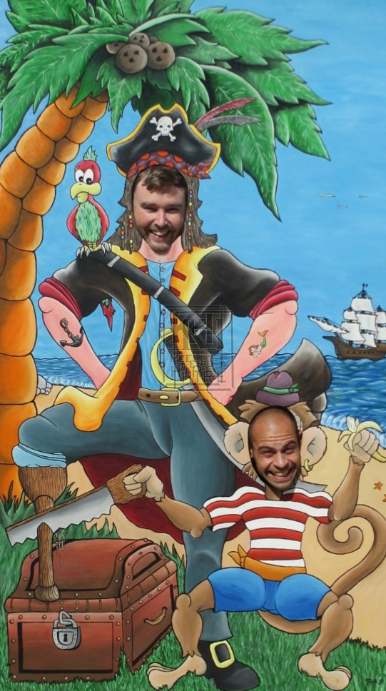 Pirate Photoboard