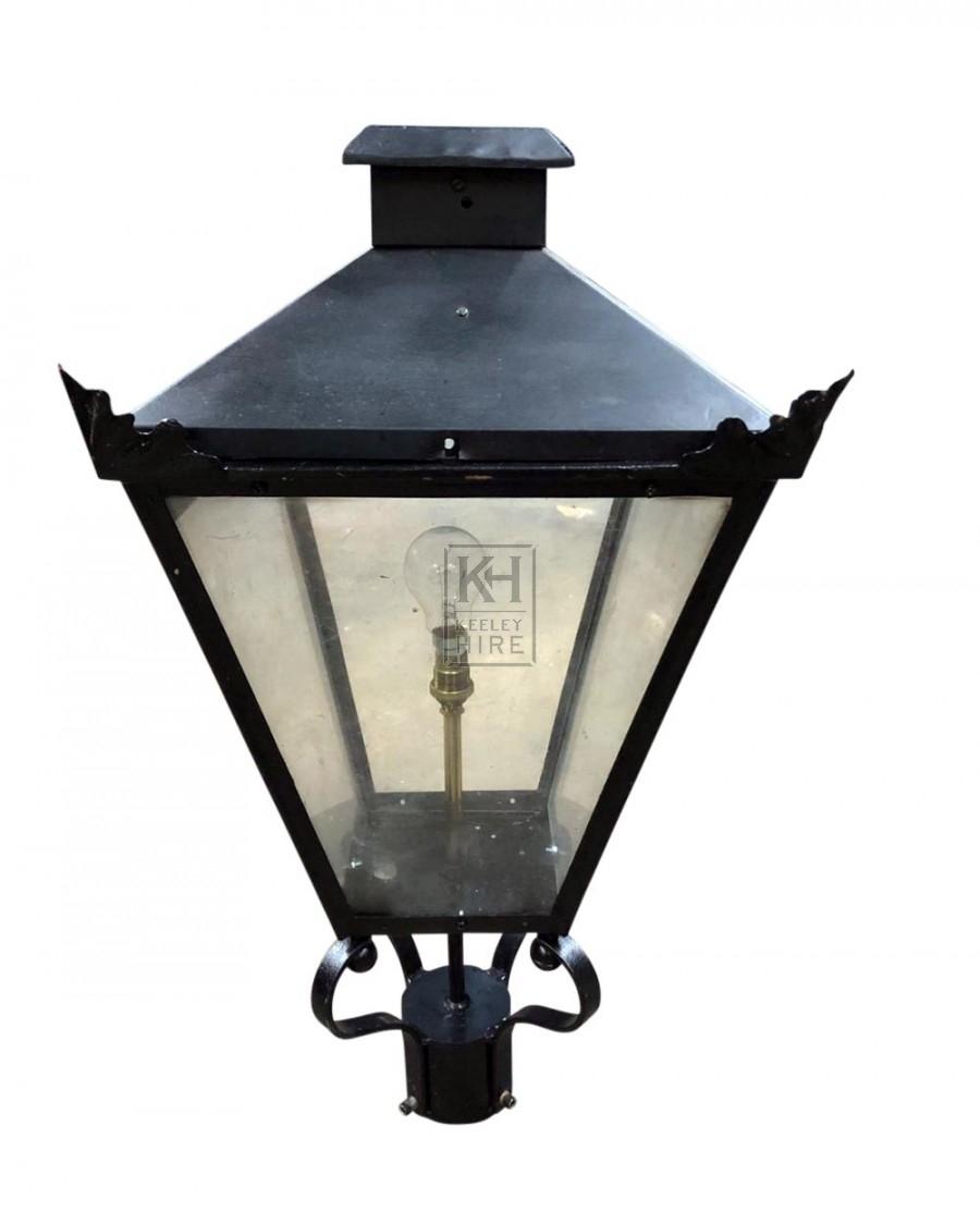 Medium Lamp flat square top