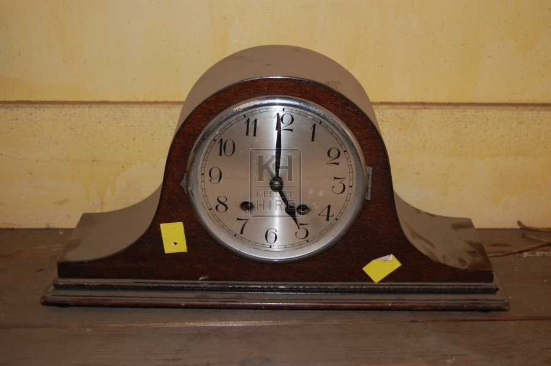 Woden Mantlepiece Analogue Clock