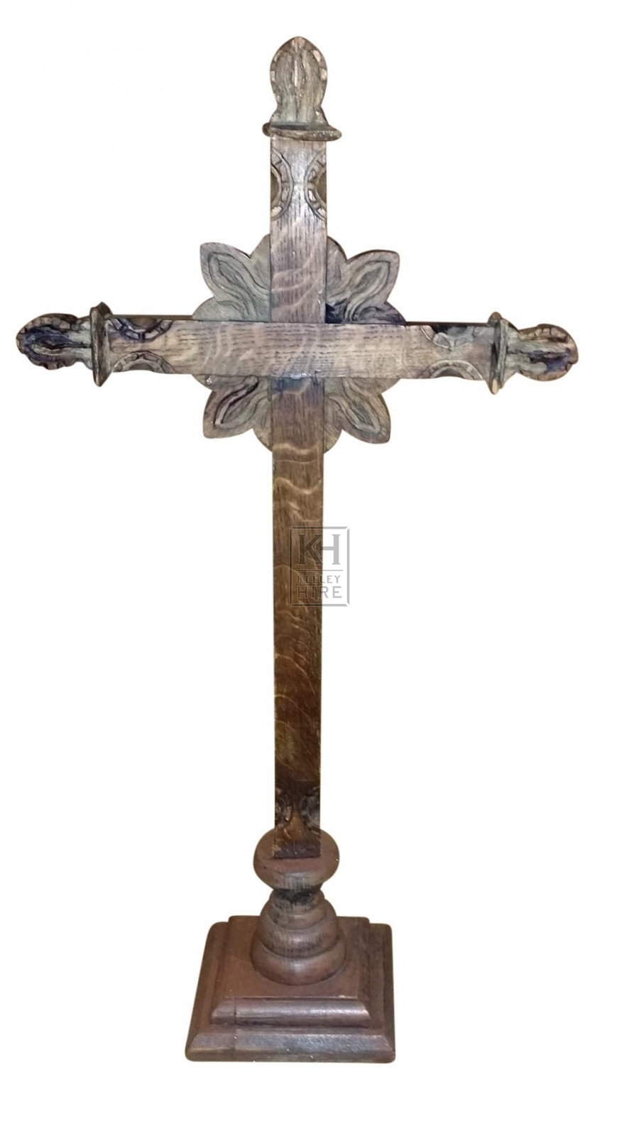 Wooden Carved Cross
