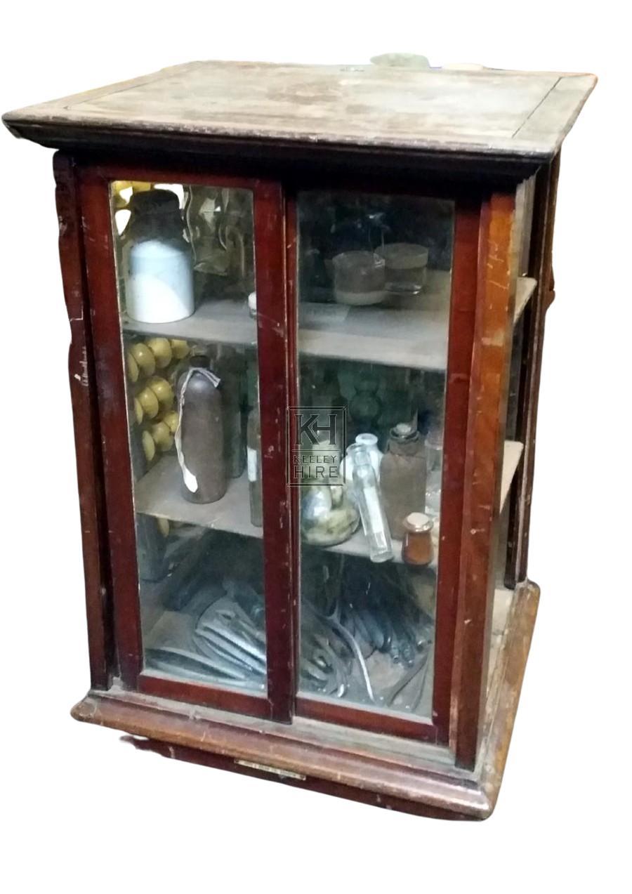 2-door display cabinet