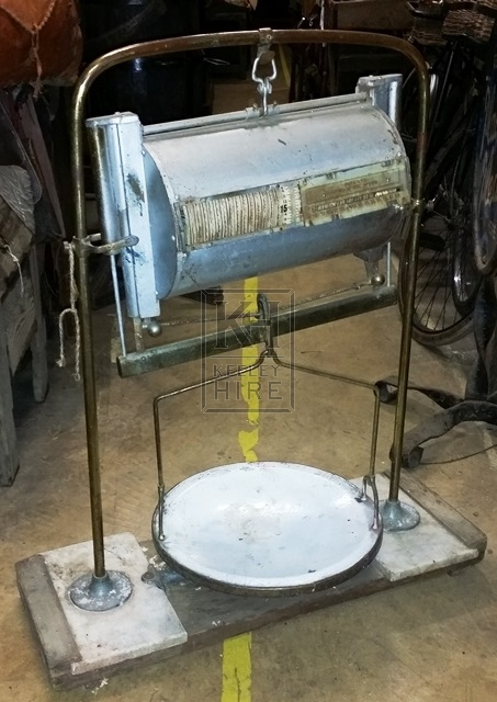 Large butchers scales