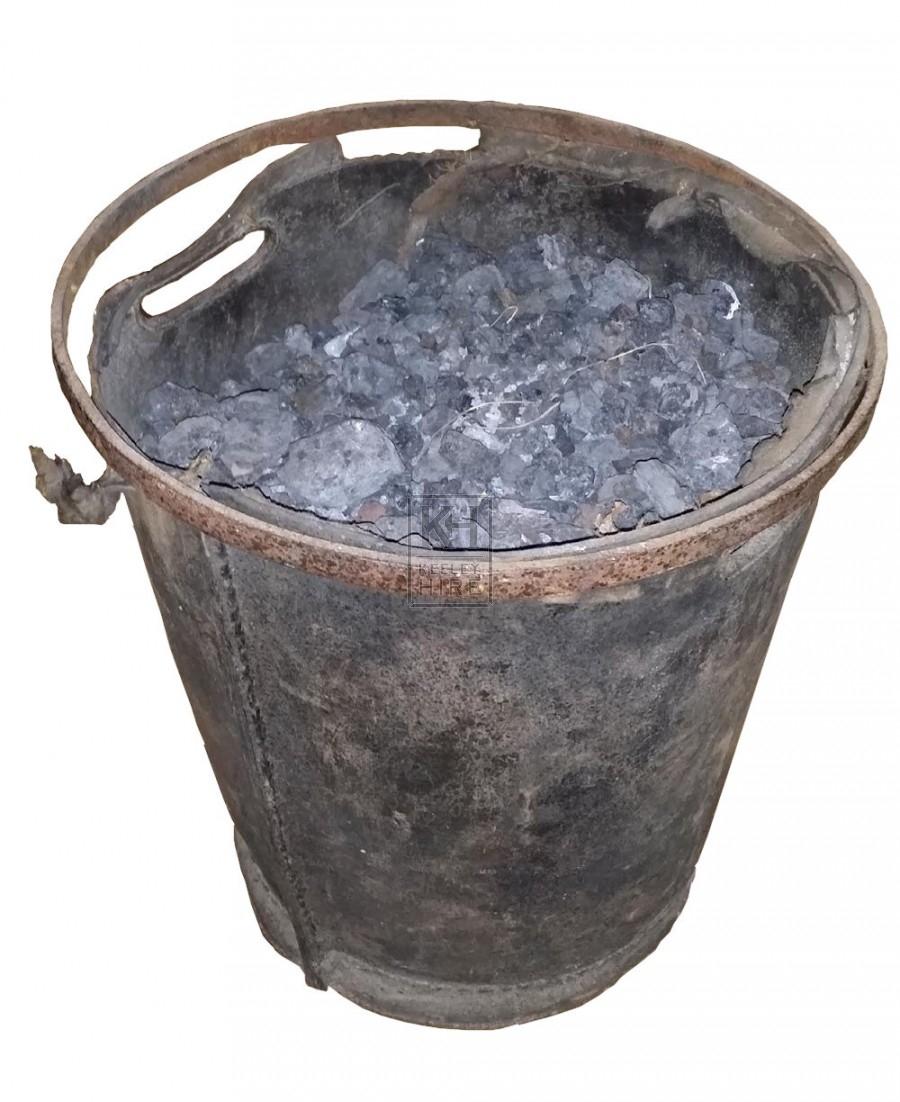 Bucket of coal