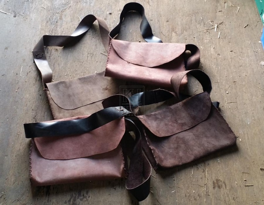 New suede leather bags