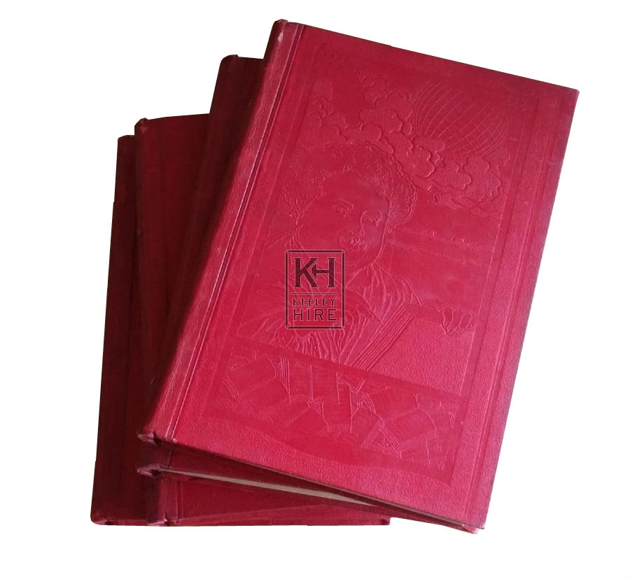 Period red French book
