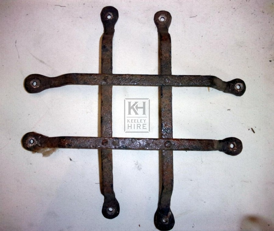 Small iron grill