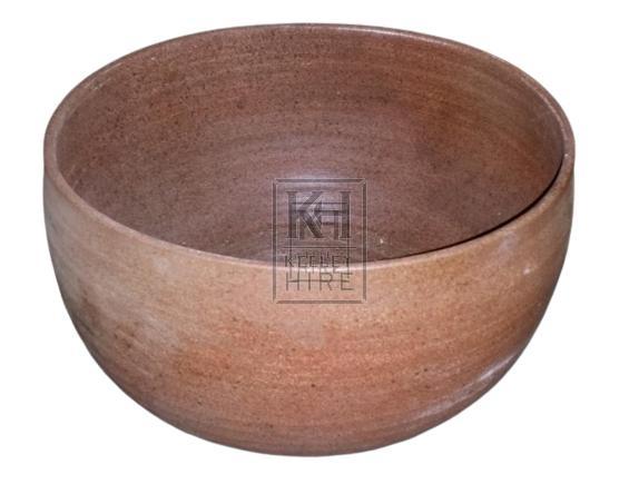 Large ceramic bowl