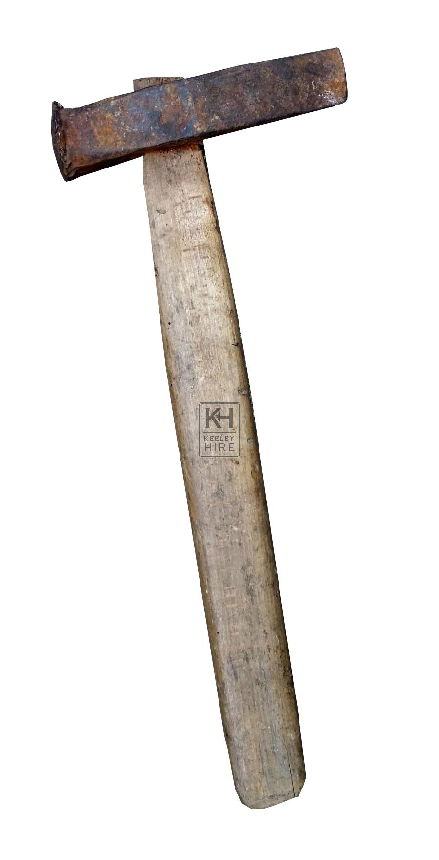 Iron & wood mallet