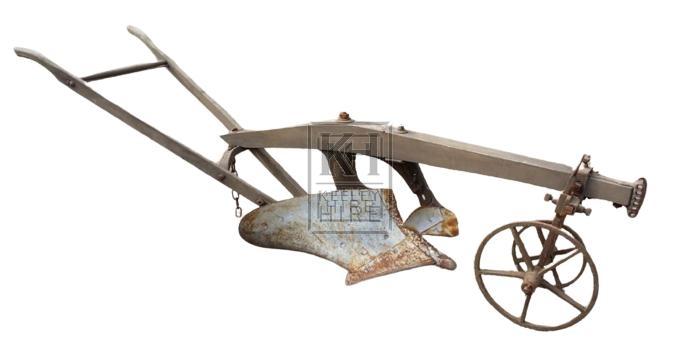Farm Plough with Guide Wheels