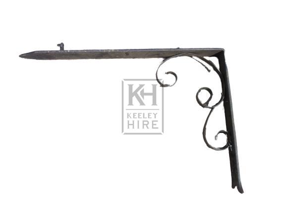 L-shape iron bracket