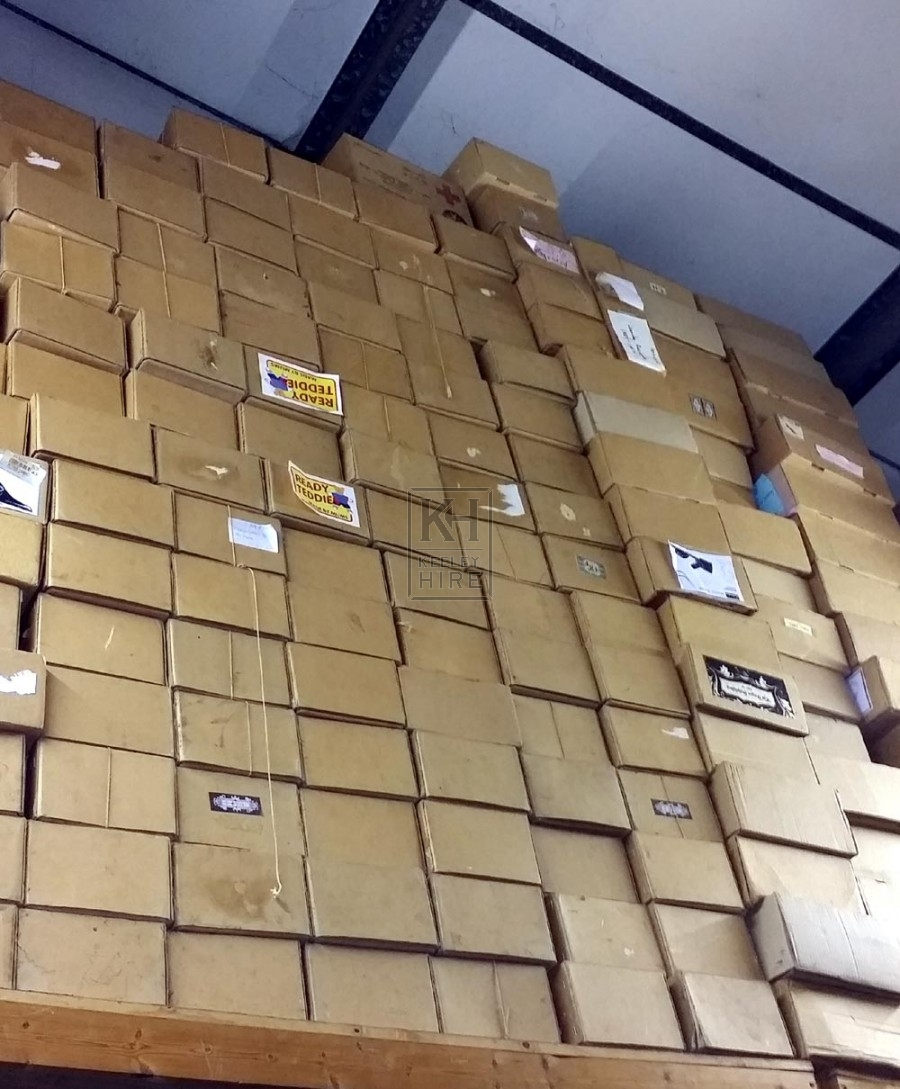 Assorted card boxes