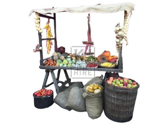 Medieval Fruit & Veg Market Dressing
