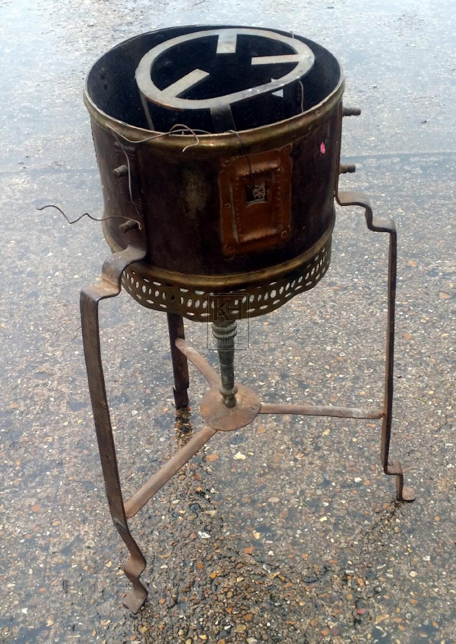 Medium moroccan cooking burner