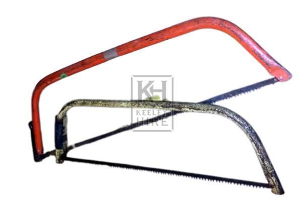 Modern bow saws