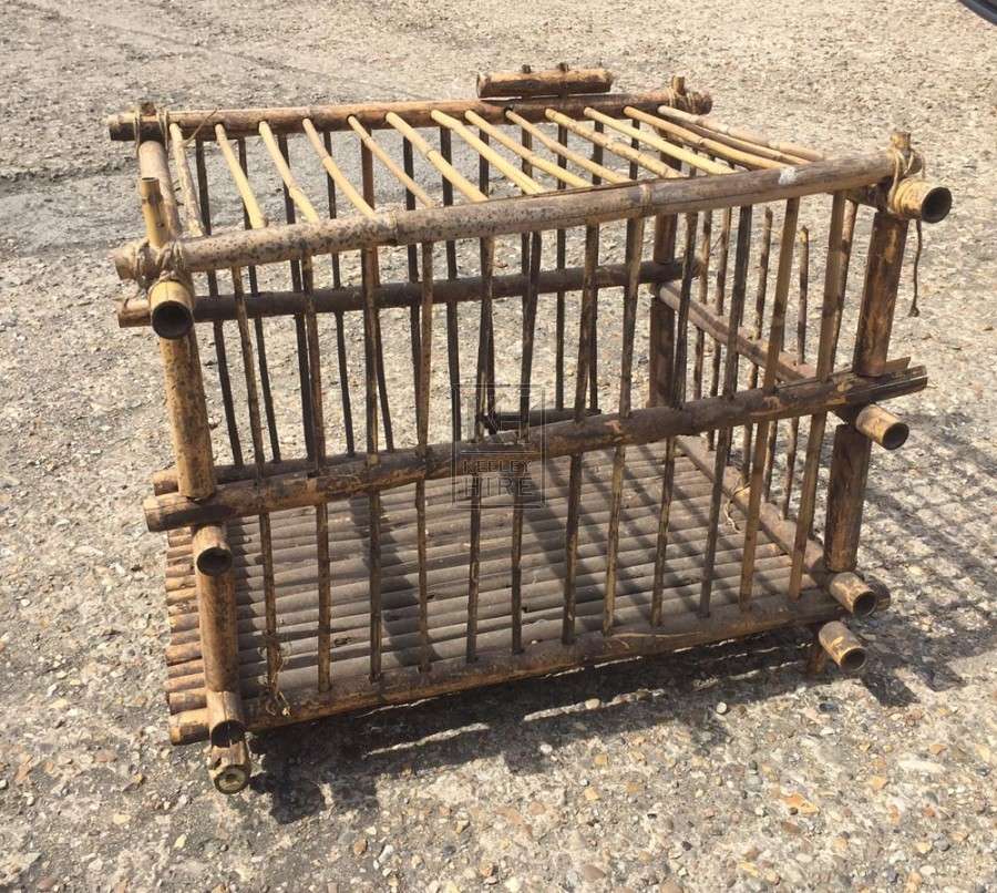 Large bamboo cage