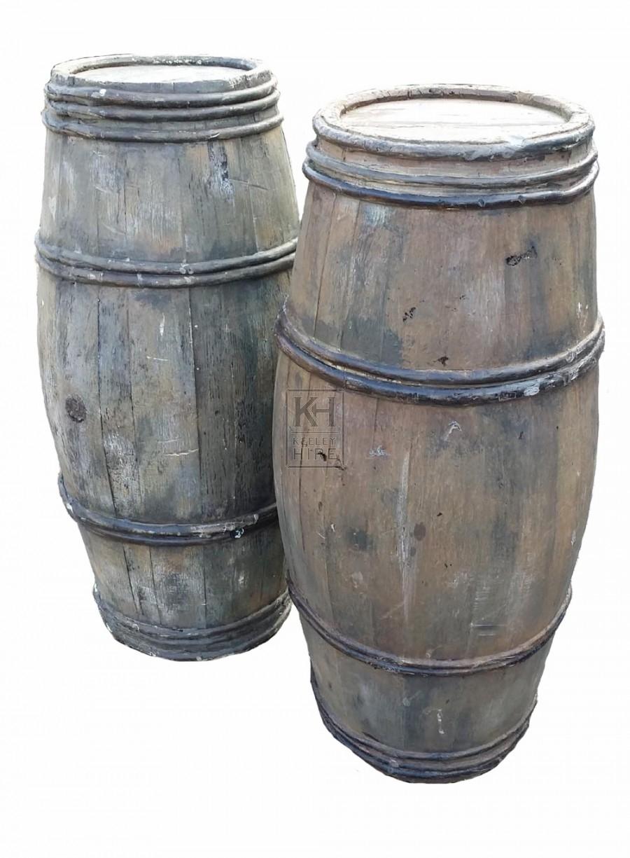 Large lightweight pipe barrel