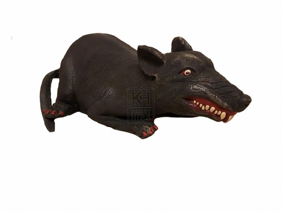 Large Rubber Rat