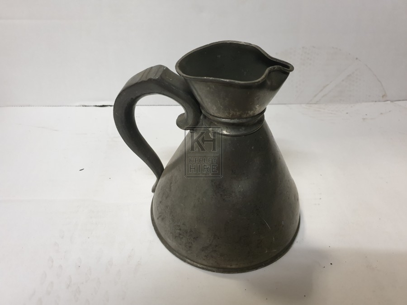 Small pewter jug
