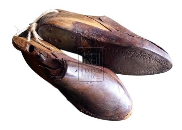 Continental antique cobblers shoes