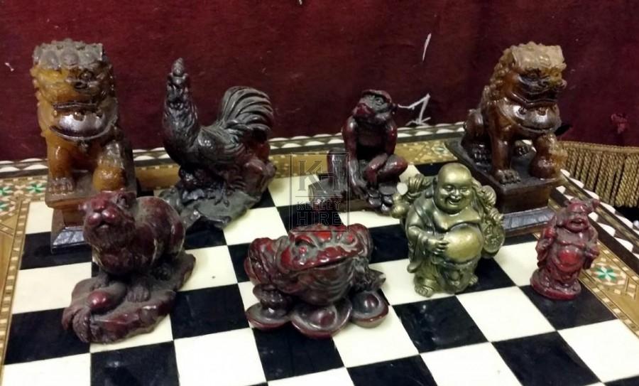 Small Buddha ornaments